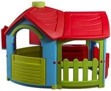 Dětský domeček Triangle Villa PalPlay s kuchyňkou a přístavbou