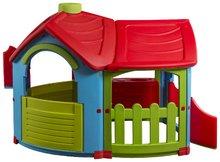 Domčeky pre deti - Domček Triangle Villa PalPlay s kuchynkou a prístavbou_0