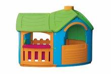 Domčeky pre deti - Domček Triangle Villa PalPlay s kuchynkou a prístavbou_1