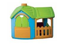 Domčeky pre deti - Domček Triangle Villa PalPlay s kuchynkou a prístavbou_2
