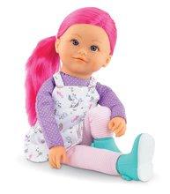 Hračky pro miminka - Panenka Nephelie Rainbow Dolls Corolle s hedvábnými vlasy a vanilkou růžová 38 cm od 3 let_1