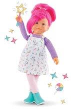 Hračky pro miminka - Panenka Nephelie Rainbow Dolls Corolle s hedvábnými vlasy a vanilkou růžová 38 cm od 3 let_3
