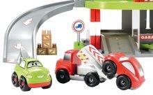 Stavebnice Abrick - Stavebnica rýchle autá - poschodová garáž Abrick Écoiffier s 3 autíčkami od 18 mes_7