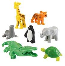 Écoiffier 3248 zvieratká z džungle Abrick 7 kusov od 18 mesiacov