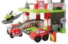 Stavebnice Abrick - Stavebnica rýchle autá - poschodová garáž Abrick Écoiffier s 3 autíčkami od 18 mes_3