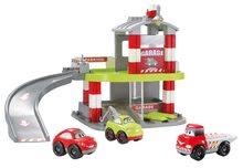 Stavebnice Abrick - Stavebnica rýchle autá - poschodová garáž Abrick Écoiffier s 3 autíčkami od 18 mes_0