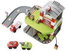 Stavebnice Abrick - Stavebnica rýchle autá - poschodová garáž Abrick Écoiffier s 3 autíčkami od 18 mes_8