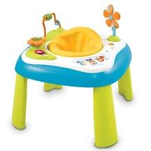 Didaktický stolík Cotoons Youpi Smoby multifunkčný od 5 mesiacov modrý