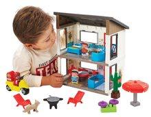 Abrick építőkockák - 3008 b ecoiffier rodinny dom