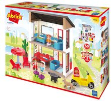 Abrick építőkockák - 3008 c ecoiffier rodinny dom