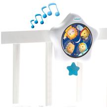 Staré položky - Ppievajúca hviezda Cotoons nad postieľku Smoby bielo-modrá pre kojencov_2