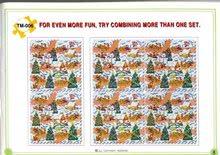 Penové puzzle - Penové puzzle Vianoce Lee 81 dielov_0