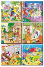 Rozprávkové kocky Kolekcia rozprávok Dohány 16 dielov