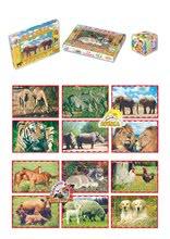 Cuburi cu povești - Cuburi mari cu poveşti Animăluţe Dohány 24 de piese_0