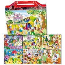 Dohány 604-6 veľké rozprávkové kocky kolekcia rozprávok 20 ks od 3 rokov