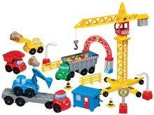 Joc de construit Abrick Maşinuţe de construcţii Écoiffier cu macara de la 18 luni