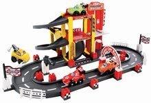 Joc de construit Garaj F1 Abrick Écoiffier cu pistă de curse şi cu 4 maşinuţe de la 18 luni