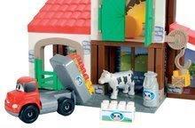 Stavebnice Abrick - Stavebnica Rýchle autá - poschodová farma s 2 autíčkami Abrick Écoiffier od 18 mes_1