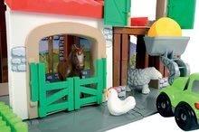 Stavebnice Abrick - Stavebnica Rýchle autá - poschodová farma s 2 autíčkami Abrick Écoiffier od 18 mes_4