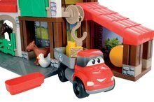 Stavebnice Abrick - Stavebnica Rýchle autá - poschodová farma s 2 autíčkami Abrick Écoiffier od 18 mes_5