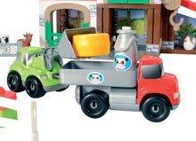 Stavebnice Abrick - Stavebnica Rýchle autá - poschodová farma s 2 autíčkami Abrick Écoiffier od 18 mes_7