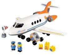 Stavebnice Abrick - Stavebnica lietadlo Abrick Écoiffier s 2 figúrkami od 18 mes_0