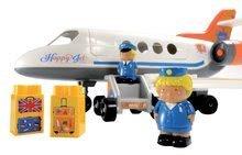 Stavebnice Abrick - Stavebnica lietadlo Abrick Écoiffier s 2 figúrkami od 18 mes_1