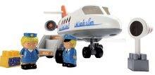 3045 e ecoiffier dopravne lietadlo