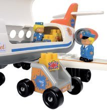3045 g ecoiffier dopravne lietadlo