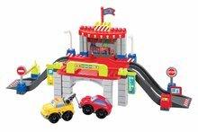 Építőjáték City 1 - parkolóház Abrick Écoiffier 2 kisautóval 18 hó-tól