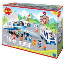 Abrick építőkockák - 3065 b ecoiffier lietadlo