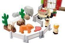 3077 b ecoiffier stavebnica zoo