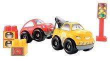 Stavebnice Abrick - Stavebnica Rýchle autá - autoservis s 2 autami Abrick Écoiffier 70 dielov od 18 mes_2