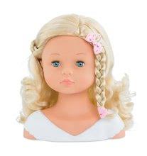 Bábiky od 3 rokov - Kadernícka česacia hlava Hairdressing Head Corolle s krásne jemnými voňavými vláskami a 20 doplnkami od 3 rokov_5