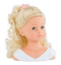 Bábiky od 3 rokov - Kadernícka česacia hlava Hairdressing Head Corolle s krásne jemnými voňavými vláskami a 20 doplnkami od 3 rokov_6