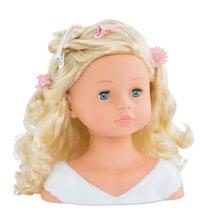 Bábiky od 3 rokov - Kadernícka česacia hlava Hairdressing Head Corolle s krásne jemnými voňavými vláskami a 20 doplnkami od 3 rokov_7