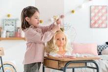 Bábiky od 3 rokov - Kadernícka česacia hlava Hairdressing Head Corolle s krásne jemnými voňavými vláskami a 20 doplnkami od 3 rokov_0