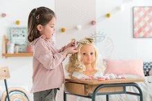Bábiky od 3 rokov - Kadernícka česacia hlava Hairdressing Head Corolle s krásne jemnými voňavými vláskami a 20 doplnkami od 3 rokov_9