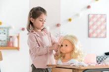 Bábiky od 3 rokov - Kadernícka česacia hlava Hairdressing Head Corolle s krásne jemnými voňavými vláskami a 20 doplnkami od 3 rokov_11
