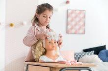 Bábiky od 3 rokov - Kadernícka česacia hlava Hairdressing Head Corolle s krásne jemnými voňavými vláskami a 20 doplnkami od 3 rokov_12