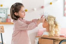 Bábiky od 3 rokov - Kadernícka česacia hlava Hairdressing Head Corolle s krásne jemnými voňavými vláskami a 20 doplnkami od 3 rokov_14