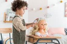 Bábiky od 3 rokov - Kadernícka česacia hlava Hairdressing Head Corolle s krásne jemnými voňavými vláskami a 20 doplnkami od 3 rokov_15