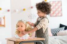 Bábiky od 3 rokov - Kadernícka česacia hlava Hairdressing Head Corolle s krásne jemnými voňavými vláskami a 20 doplnkami od 3 rokov_16