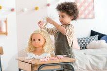 Bábiky od 3 rokov - Kadernícka česacia hlava Hairdressing Head Corolle s krásne jemnými voňavými vláskami a 20 doplnkami od 3 rokov_17
