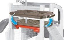 Hracie centrá - Hracie centrum Fun Center Smoby so šmykľavkou dlhou 150 cm a basketbalovým košom od 24 mes_9