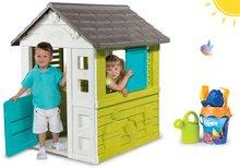 Set domeček pro děti Pretty Blue Smoby a kbelík set Nemo od 2 let