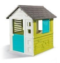 Domčeky so šmykľavkou - Set domček Pretty Blue Smoby a šmykľavka Toboggan KS s dĺžkou 150 cm od 24 mes_0