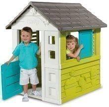 Domčeky so šmykľavkou - Set domček Pretty Blue Smoby a šmykľavka Toboggan KS s dĺžkou 150 cm od 24 mes_1