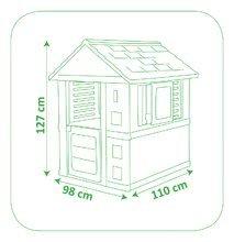 Šmykľavky s domčekom - Set šmykľavka Smoby Toboggan XS dĺžka 90 cm a domček Pretty Blue od 24 mes_8