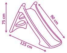 Šmykľavky sety - Set šmykľavka Sofia Prvá Smoby Toboggan XS dĺžka 90 cm a auto odrážadlo Auto Sofia od 24 mes_7